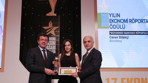 BloombergHT'ye 'Yılın Ekonomi Röportajı' ödülü