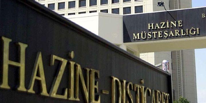 Hazine 1,63 milyar lira borçlandı