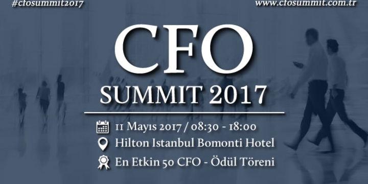 CFO Summit 2017 Tarihi Belli Oldu