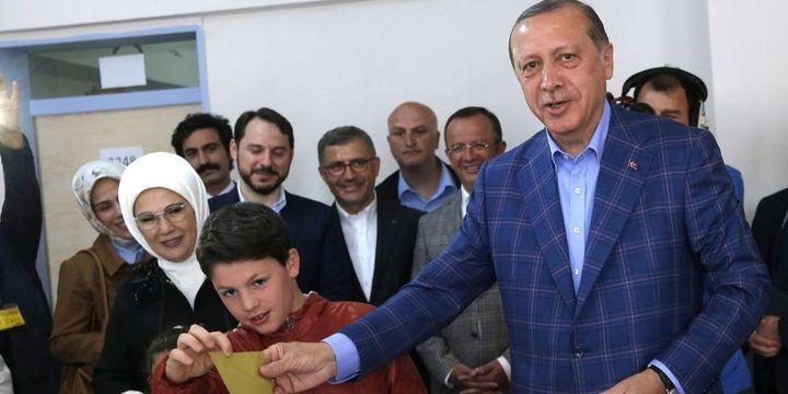 Erdoğan: Bu oylama, Türkiye