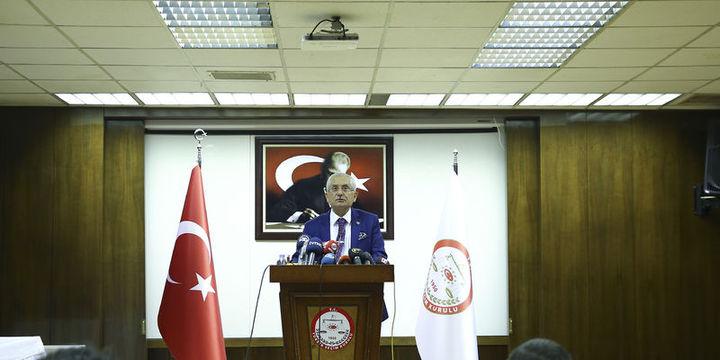 """YSK Başkanı Güven: Bu sonuca göre halkoylamasında """"Evet"""" çıkmıştır"""