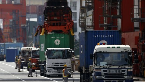 Japonya'da ihracat 2 yılın en hızlı yükselişini yaptı