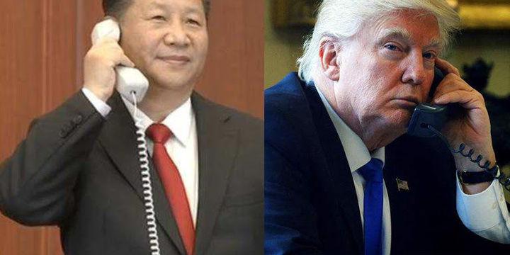 Xi ve Trump telefonda Kuzey Kore