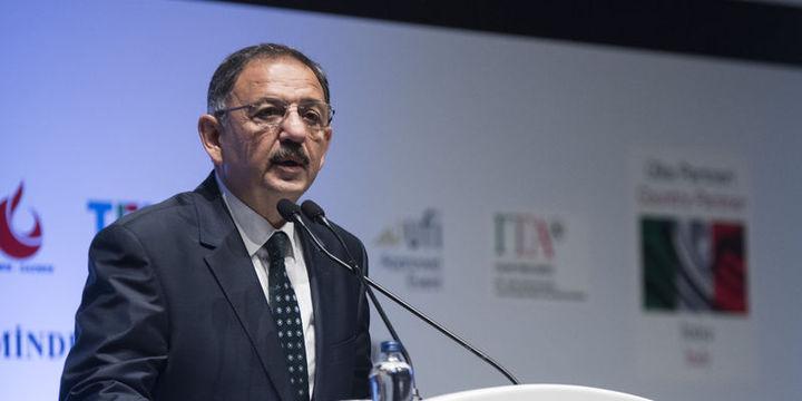 Bakan Özhaseki askeri arazilerle ilgili açıklamalarda bulundu