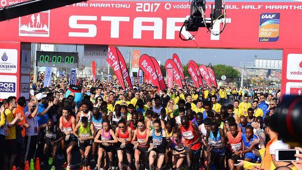 Vodafone İstanbul Yarı Maratonu sona erdi