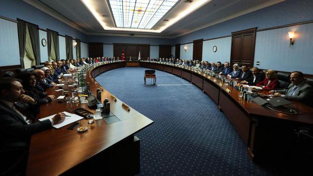 AK Parti MKYK toplantısında olağanüstü kongre kararı