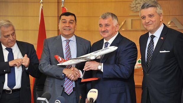 THY ile Middle East Airlines arasında anlaşma imzalandı