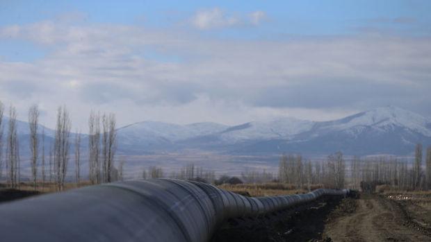 Trans Anadolu Doğalgaz Boru Hattı test için geri sayıma başladı