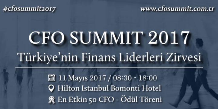 En Etkin 50 CFO ödül töreni 11 Mayıs