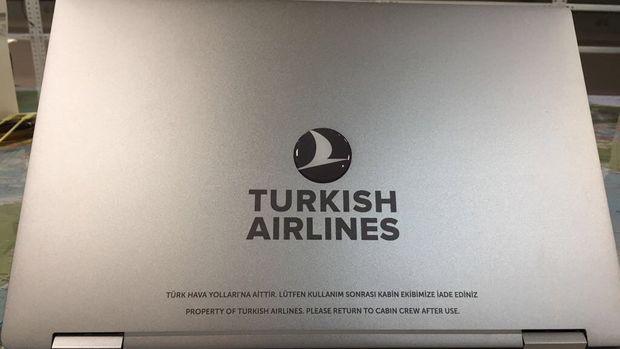 THY, business class yolcularına laptop verecek