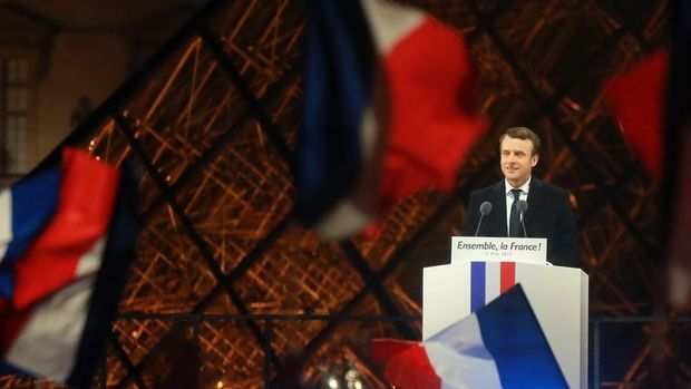 Macron'un seçimden sonraki ilk mesajı
