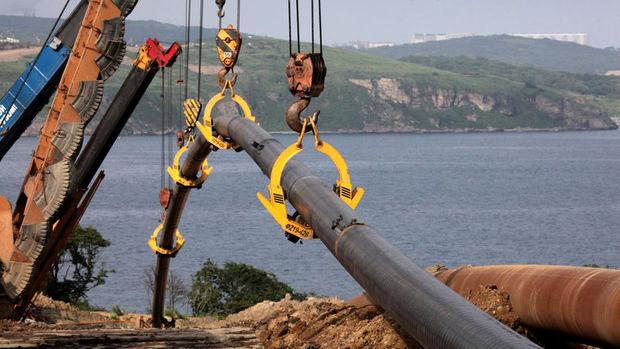 Türk Akımı'nda inşaat başladı