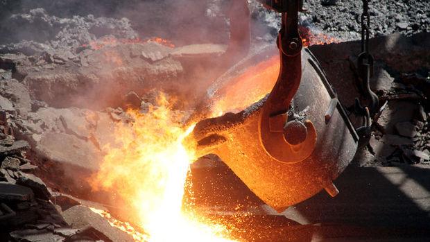 Çelik üretiminde çift haneli artış
