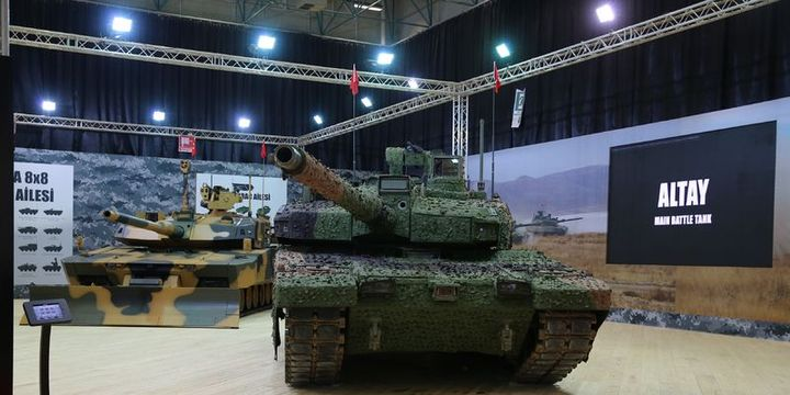 Otokar, Asimetrik Harp Tankı Altay