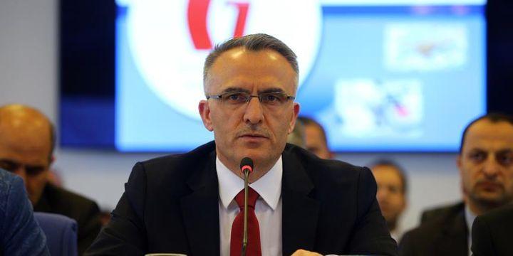 Maliye Bakanı Ağbal