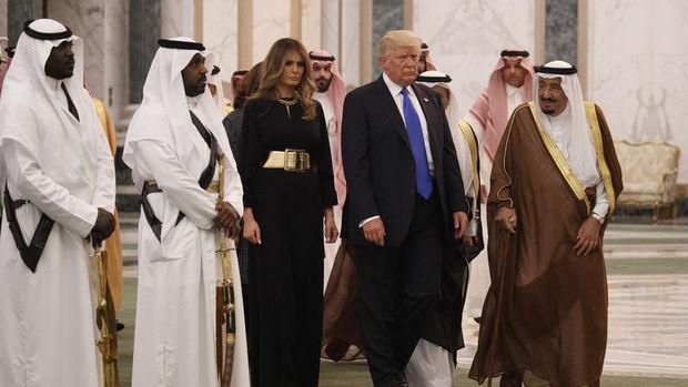 Trump ilk yurt dışı gezisini Suudi Arabistan'a gerçekleştiriyor