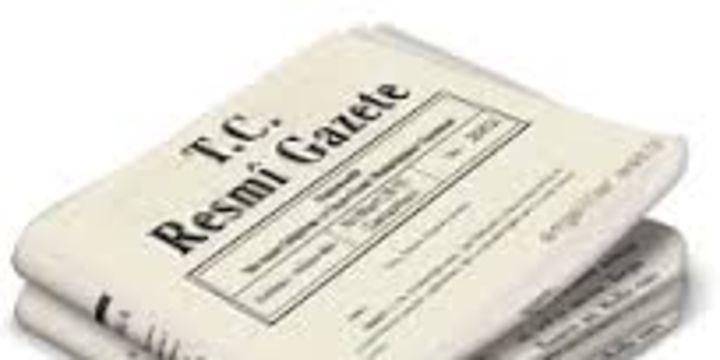Rektör atamalarına ilişkin kararlar Resmi Gazete