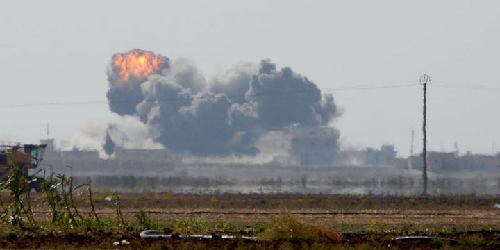 ABD öncülüğünde koalisyon Suriye