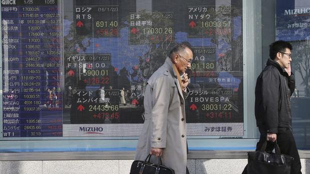 Asya hisseleri düşüşünü sürdürdü