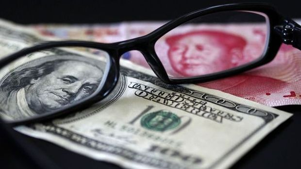 Offshore yuan dolardaki düşüşün son bulmasıyla zayıfladı