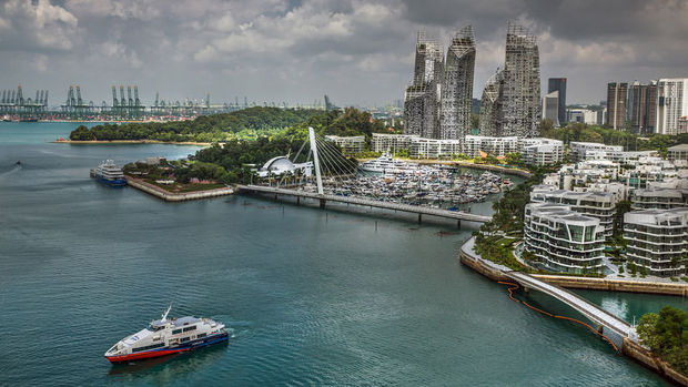Singapur'da gayrimenkul hisseleri hızla yükseliyor