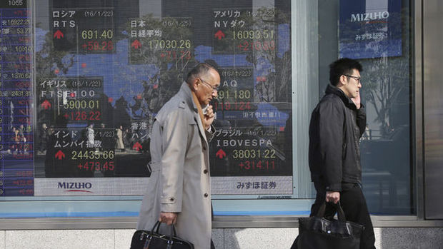 Asya hisseleri iki yılın en yüksek seviyesine yaklaştı