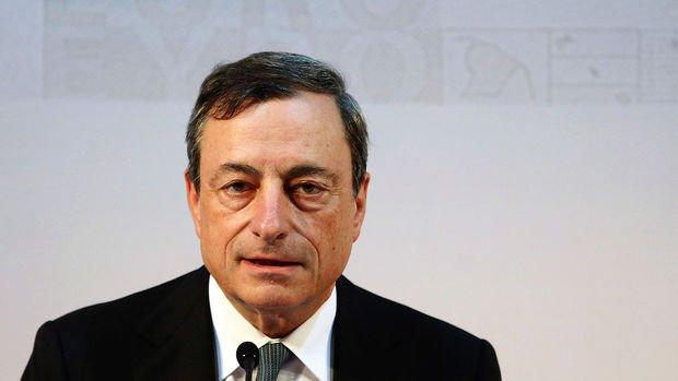 Draghi: Para politikasına gereğinden fazla yüklenilmemeli