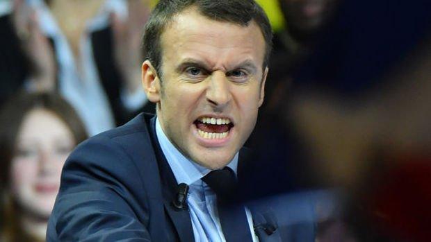 Macron'u tehdit eden genç hapse atıldı