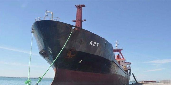 Türk gemisine Ege Denizi