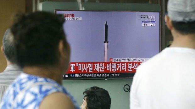 K. Kore: Bugün fırlatılan kıtalararası balistik füzeydi