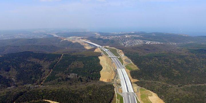 Kuzey Marmara Otoyolu Paşaköy-TEM Kurtköy bağlantı yolu açılıyor