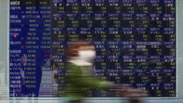 Asya hisseleri füze kaygılarının geçmesiyle yükseldi