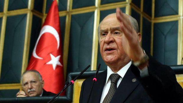 MHP lideri Bahçeli'den CHP'nin Adalet Yürüyüşü'ne tepki