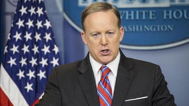 Beyaz Saray Sözcüsü Spicer'ın istifası Trump tarafından kabul edildi