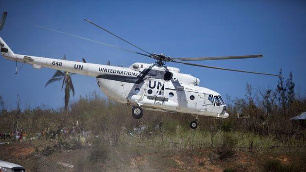 Mali'de Birleşmiş Milletler helikopteri düştü
