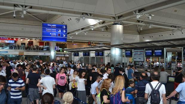 Türkiye'ye gelen yabancı turist sayısı Haziran'da yüzde 43 arttı