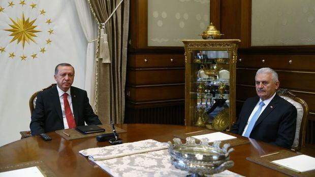 Cumhurbaşkanı Erdoğan Başbakan Binali Yıldırım ile görüşecek