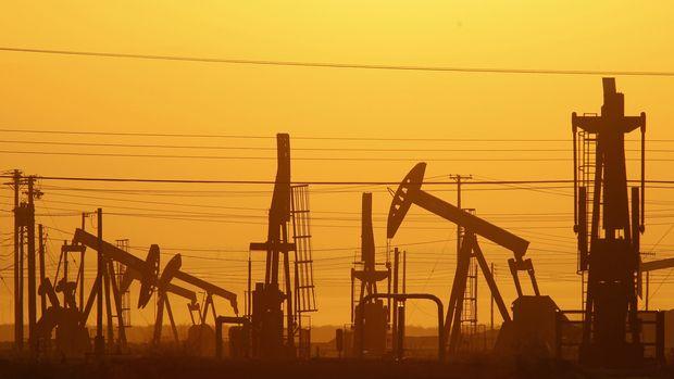 """Petrol """"stok verisi"""" ile düşüşüne ara verdi"""
