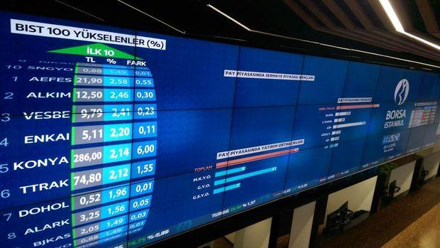 Borsadaki bankaların ilk yarı karı yüzde 33 arttı