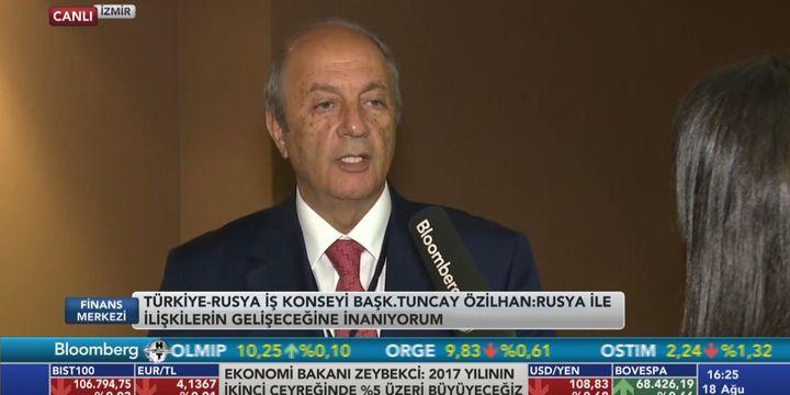 DEİK/Özilhan: Rus yatırımcıların Türkiye