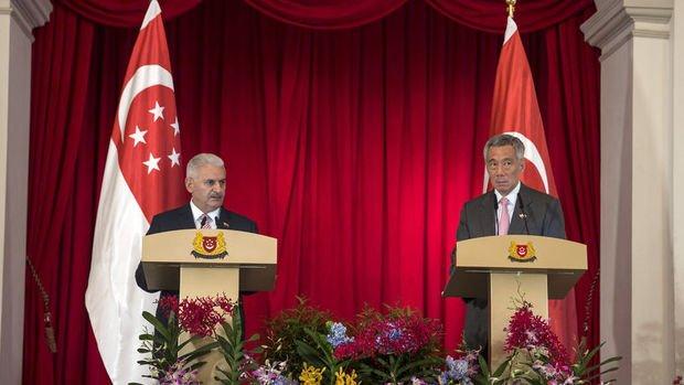 Singapur/Lee: Serbest Ticaret Anlaşması'ndan karşılıklı yararlanacağız