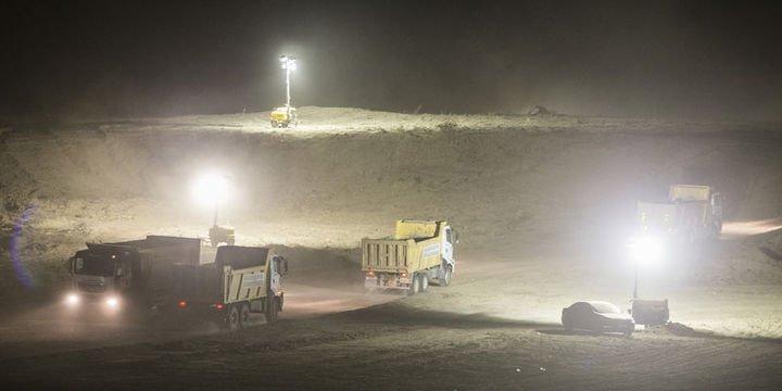 ODTÜ arazisinde yol yapım çalışmalarına başlandı