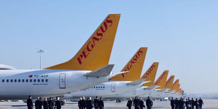 Pegasus yolcu sayısı Ağustos