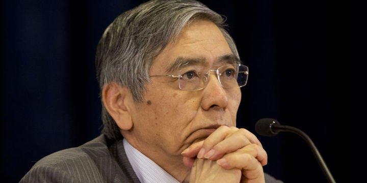 BOJ/Kuroda: Mevcut genişleme yüzde 2