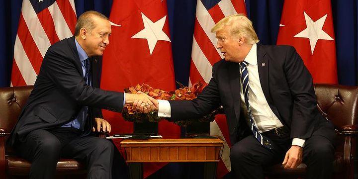 Cumhurbaşkanı Erdoğan ile ABD Başkanı Trump