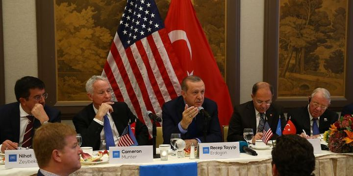 Cumhurbaşkanı Erdoğan, ABD
