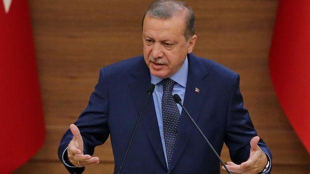 Erdoğan: (Kuzey Irak) kendini ateşe atıyor