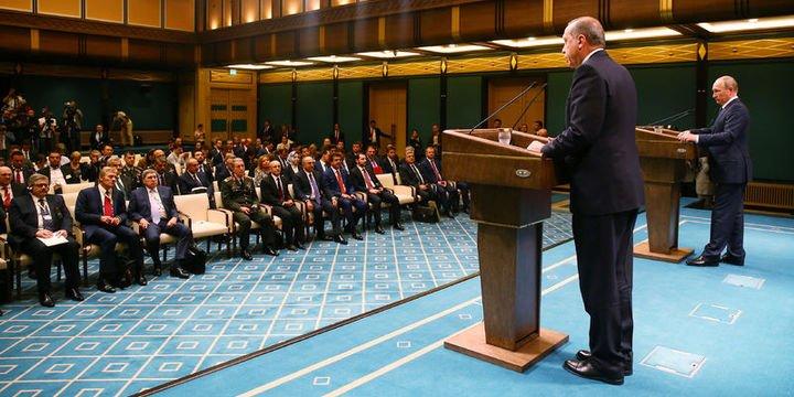 Erdoğan: Irak ve Suriye