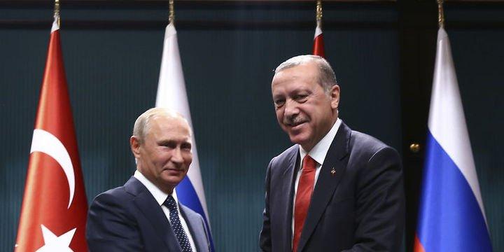 Erdoğan: Putin il Irak ve Suriye