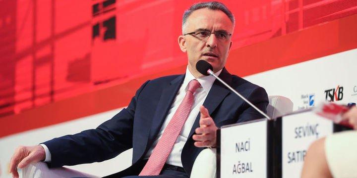 Maliye Bakanı Ağbal hastanede tedavi görüyor